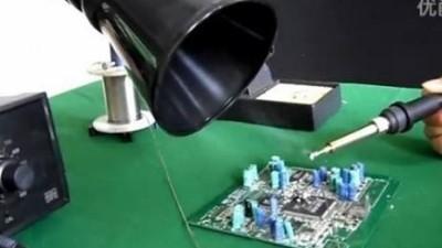 了解焊锡烟雾净化源头,就能解决问题的本质。