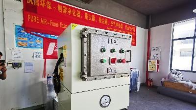 执信环保工厂用防爆吸尘器,稳定安全可靠的防爆除尘设备!