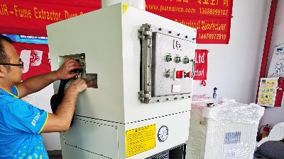 执信环保铝粉防爆集尘器,防爆除尘设备,安全可靠高效净化!