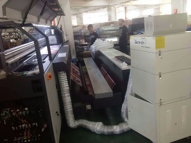 PA-1500FS with Flora Printing Machine