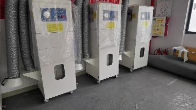 执信环保,移动式收尘器,移动式集尘机,集尘设备厂家!