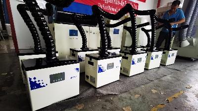 激光切割烟雾净化机,激光烟雾净化机,执信环保销售全球多个国家!