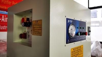 飞轮车间加工烟尘污染大,用执信环保工业车间烟尘净化设备试试!