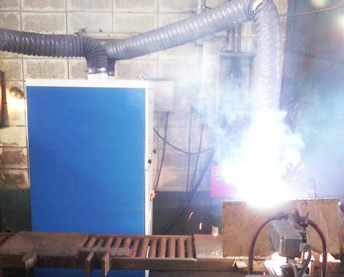 金属切割、焊接与打磨抛光烟尘净化器方案