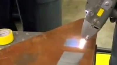 专业净化激光清洗烟尘异味,执信环保激光清洗烟雾过滤器!