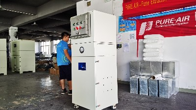 执信环保防爆吸尘器工业,安全可靠,高效,净化车间粉尘!
