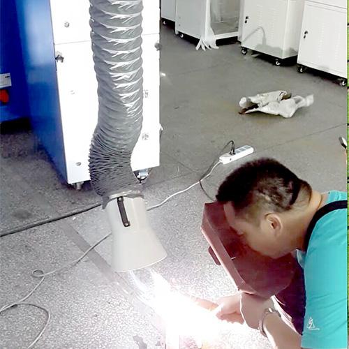 执信环保-焊接烟尘净化器案例